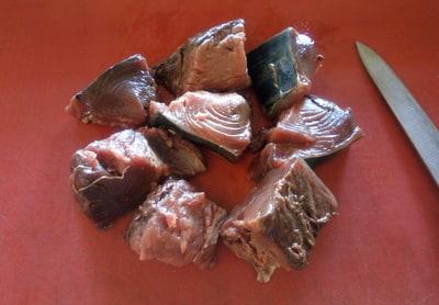 toriksis01 Torik Balığı Şiş